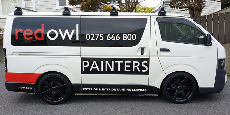 Red-Owl-painters-van